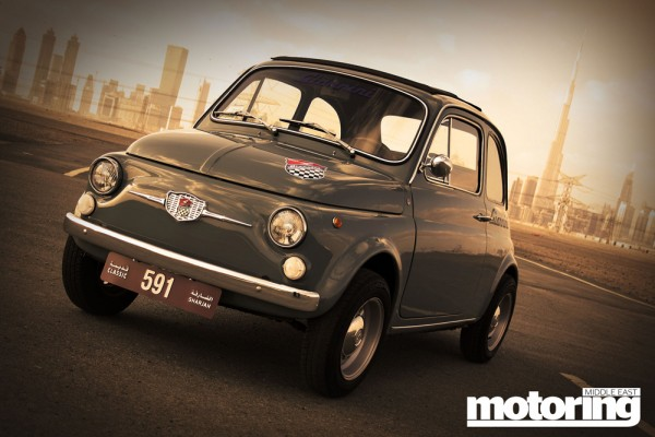 1969 Fiat 500 'Giannini' in Dubai, UAE