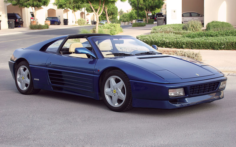 ferrari 348 blue ferrari 348 project car   how to restore and run an