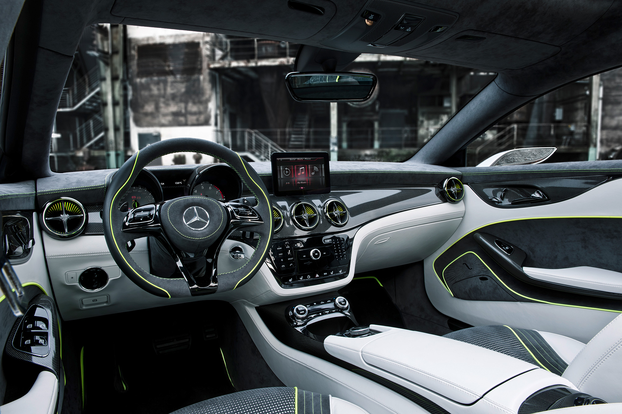 2012 Mercedes Concept Style CLA  Motoring Middle East Car news