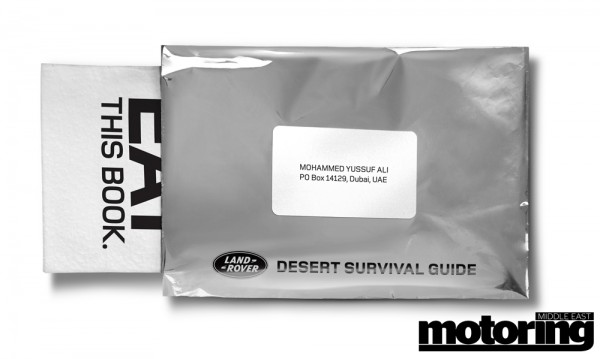 Land Rover Edible Survival Guide Book
