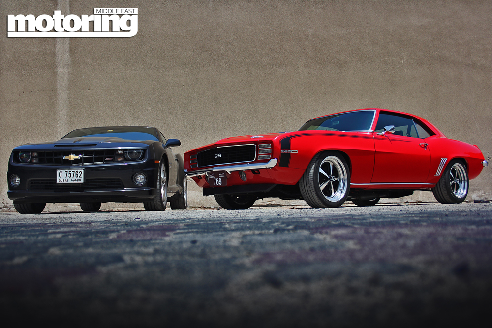 1969 Chevrolet Camaro SS meets 2012 SS - Motoring Middle East: Car ...