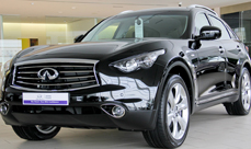 Infiniti used approved through Arabian Automobiles for Dubai and Northern Emirates