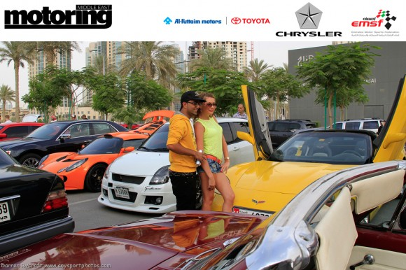 Motoring Middle East (MME) Car and Bike Meet 11, Dubai UAE, June 2012
