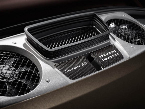 Porsche Exclusive: engine cover 911 Carrera S