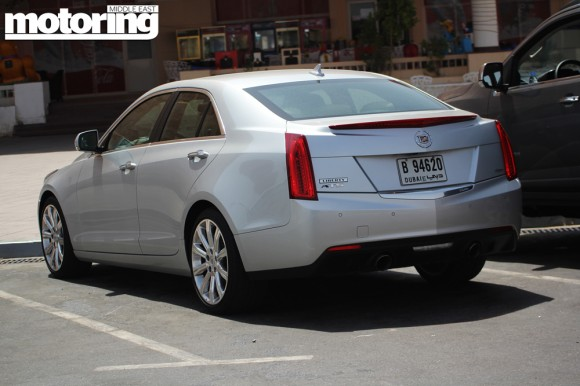 Cadillac ATS caught hot-weather testing on Jebel Hafeet in the UAE