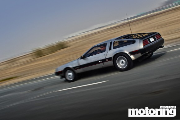 DeLorean in Dubai