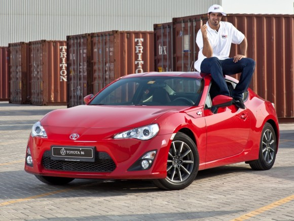 Ahmed Al Ameri will be drifting the new 86 for Toyota Emirates Drifting Team next season