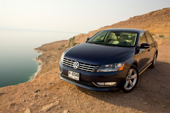 2012 Volkswagen Passat for America and the Middle East
