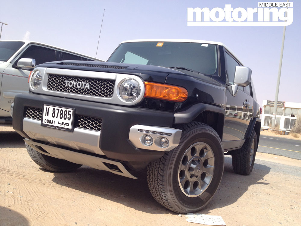2012 toyota fj cruiser manual motoring middle east. Black Bedroom Furniture Sets. Home Design Ideas