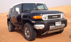 2012 Toyota FJ Manual