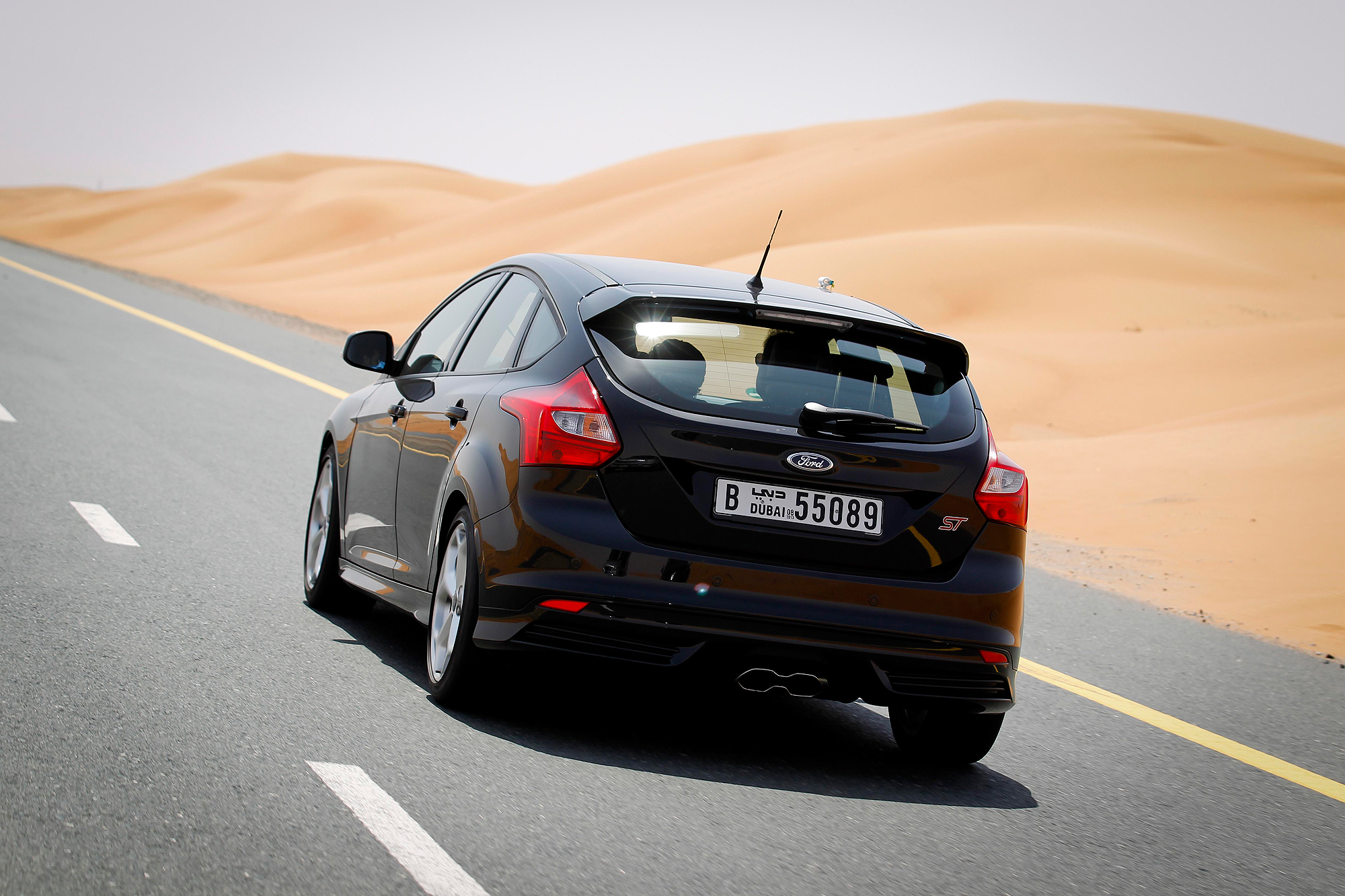Ford Focus ST and Fusion UAE testing programme Motoring Middle