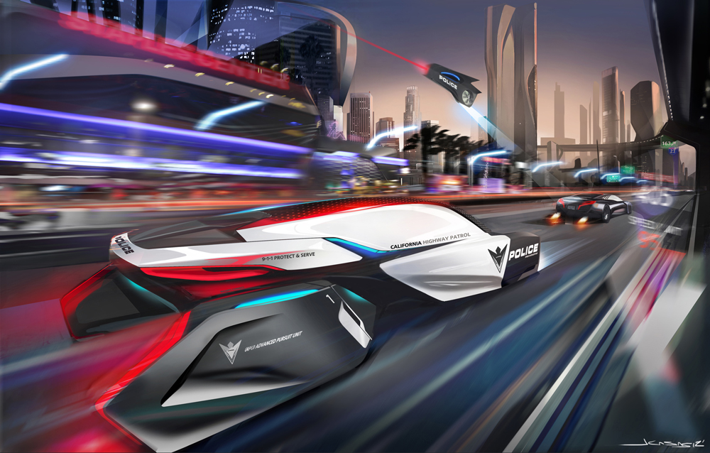 Police cars of the future from BMW - Motoring Middle East ...