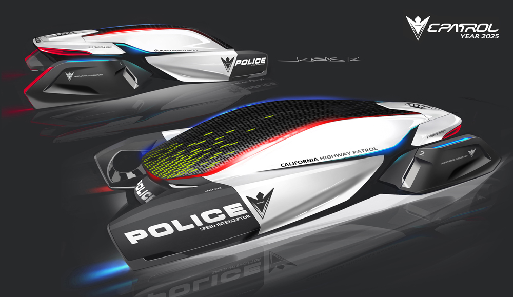 police cars of the future from bmw motoring middle east