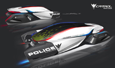 LA Autoshow 2012, BMW design concept for 2025 Police Highway Patrol Vehicle