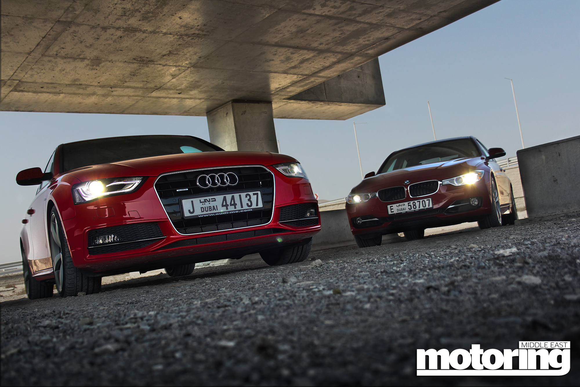 twin test bmw 335i vs audi a4 3 0 tfsi   motoring middle