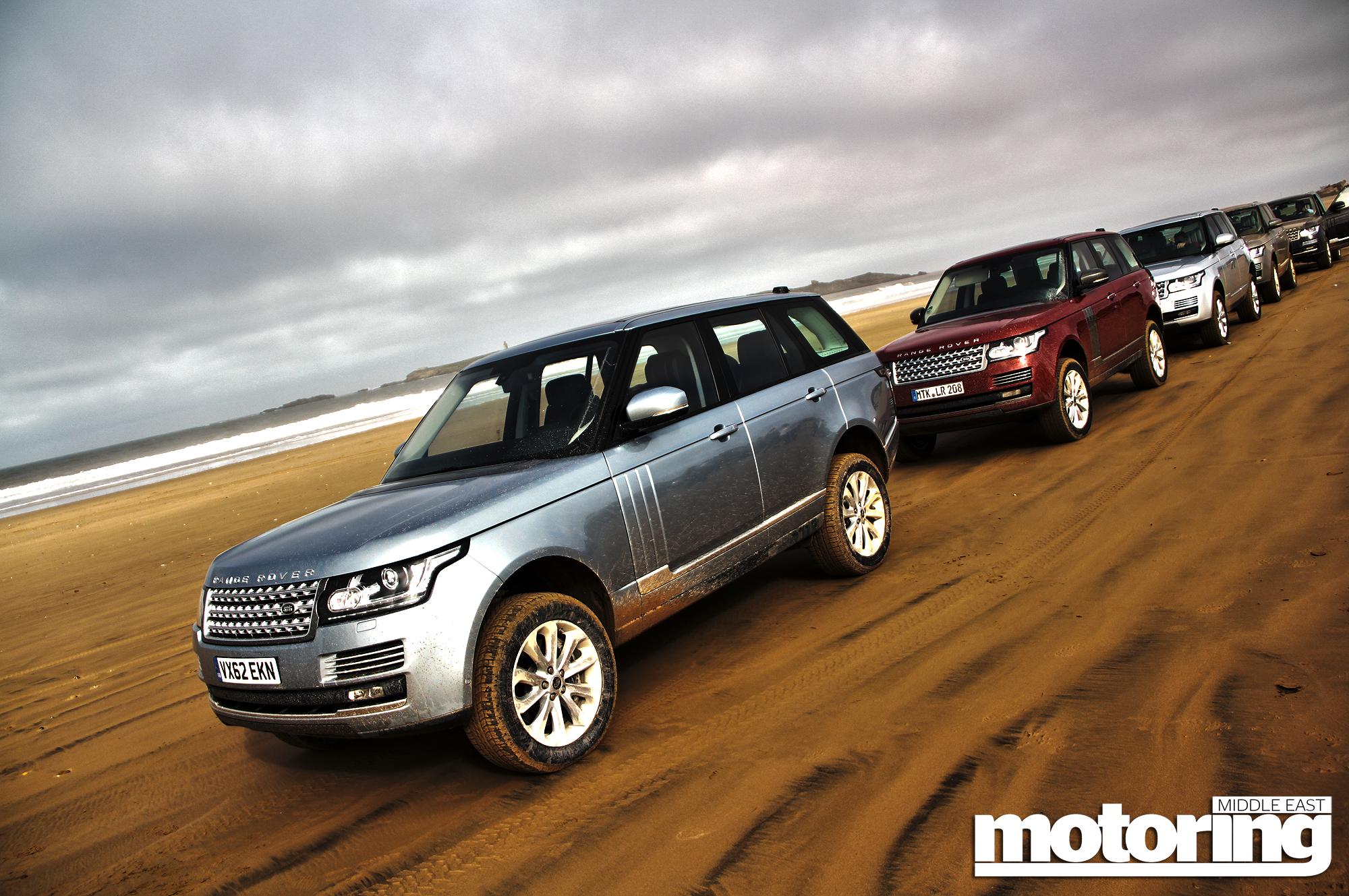 Range Rover in Morocco
