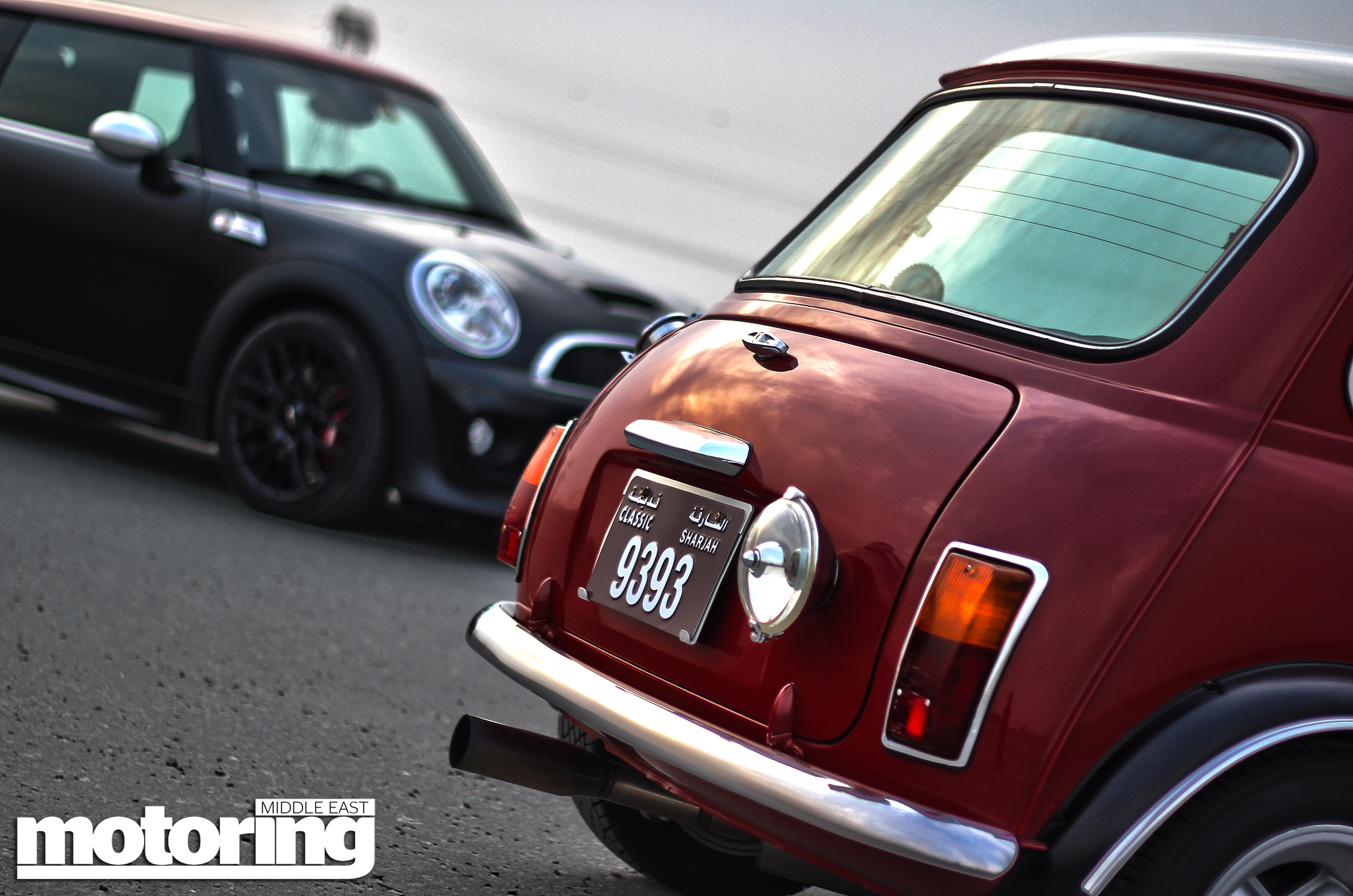 2013 Mini John Cooper Works Auto meets classics