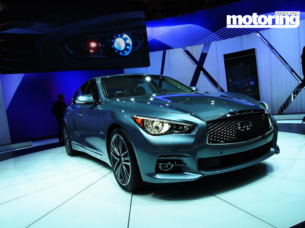 new so er, well here it is: the brand spanking new Infiniti Q50. Wait