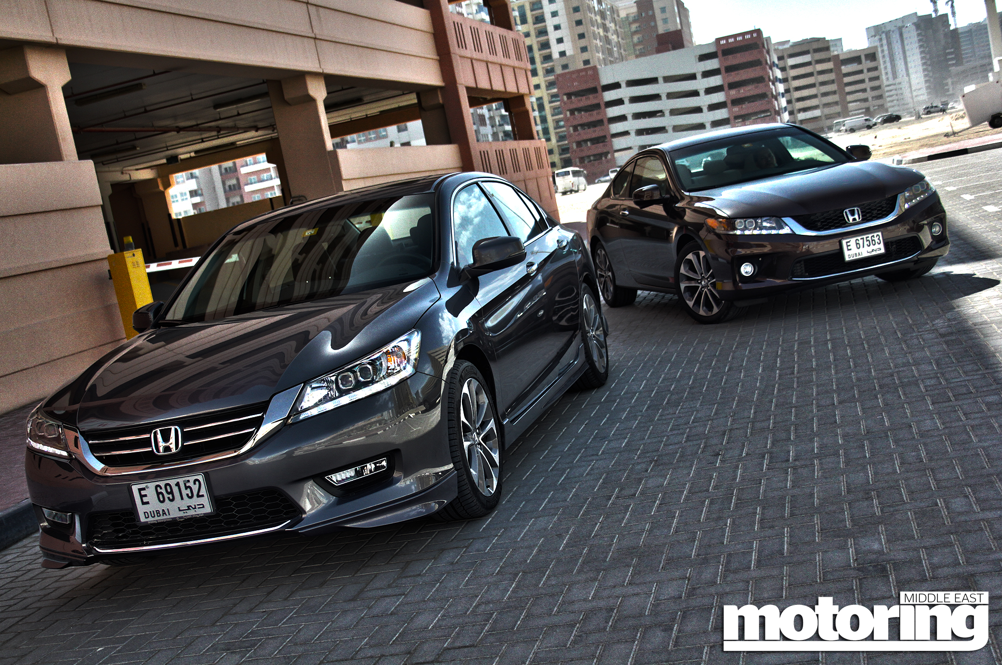 2013 Honda Accord V6 Saloon And Coupe