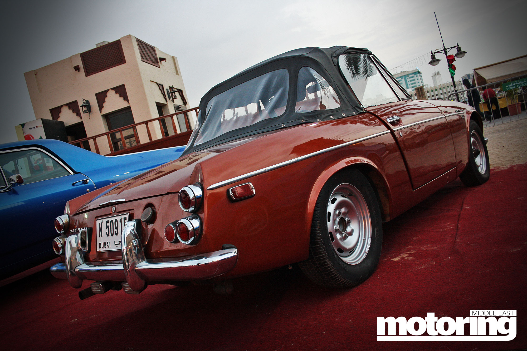Classic car road rally in UAE this December  Motoring Middle East
