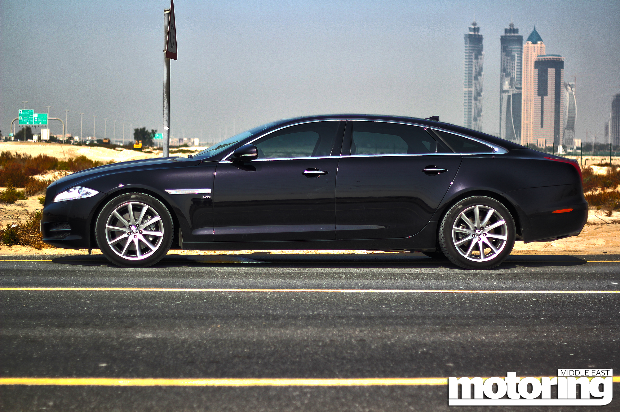Jaguar XJ V6 Supercharged Review - Motoring Middle East: Car news ...