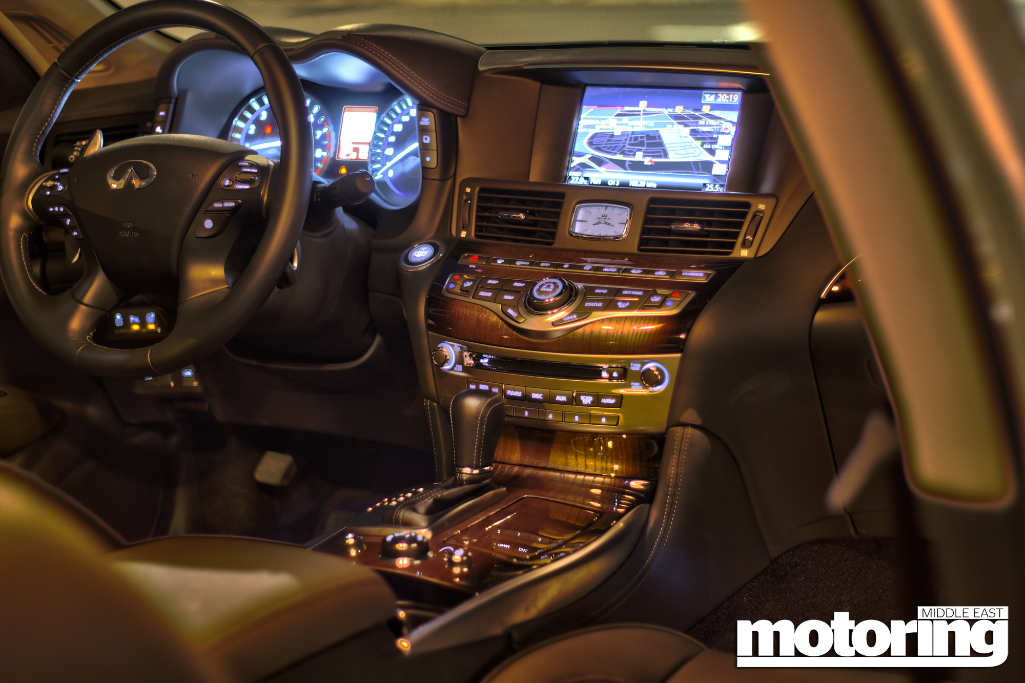 Infiniti m56 review motoring middle east car news reviews and infiniti m56 s vanachro Gallery