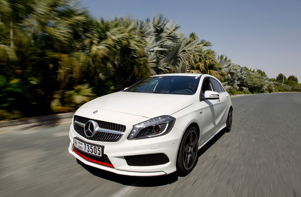 2013 Mercedes A250 Sport Review Motoring Middle East