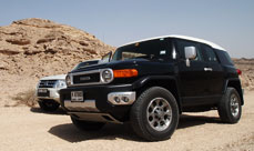 Toyota FJ Long Term Tombs
