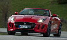 Jaguar F-Type launch drive