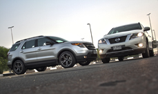 2013 Nissan Pathfinder vs 2012 Ford Explorer