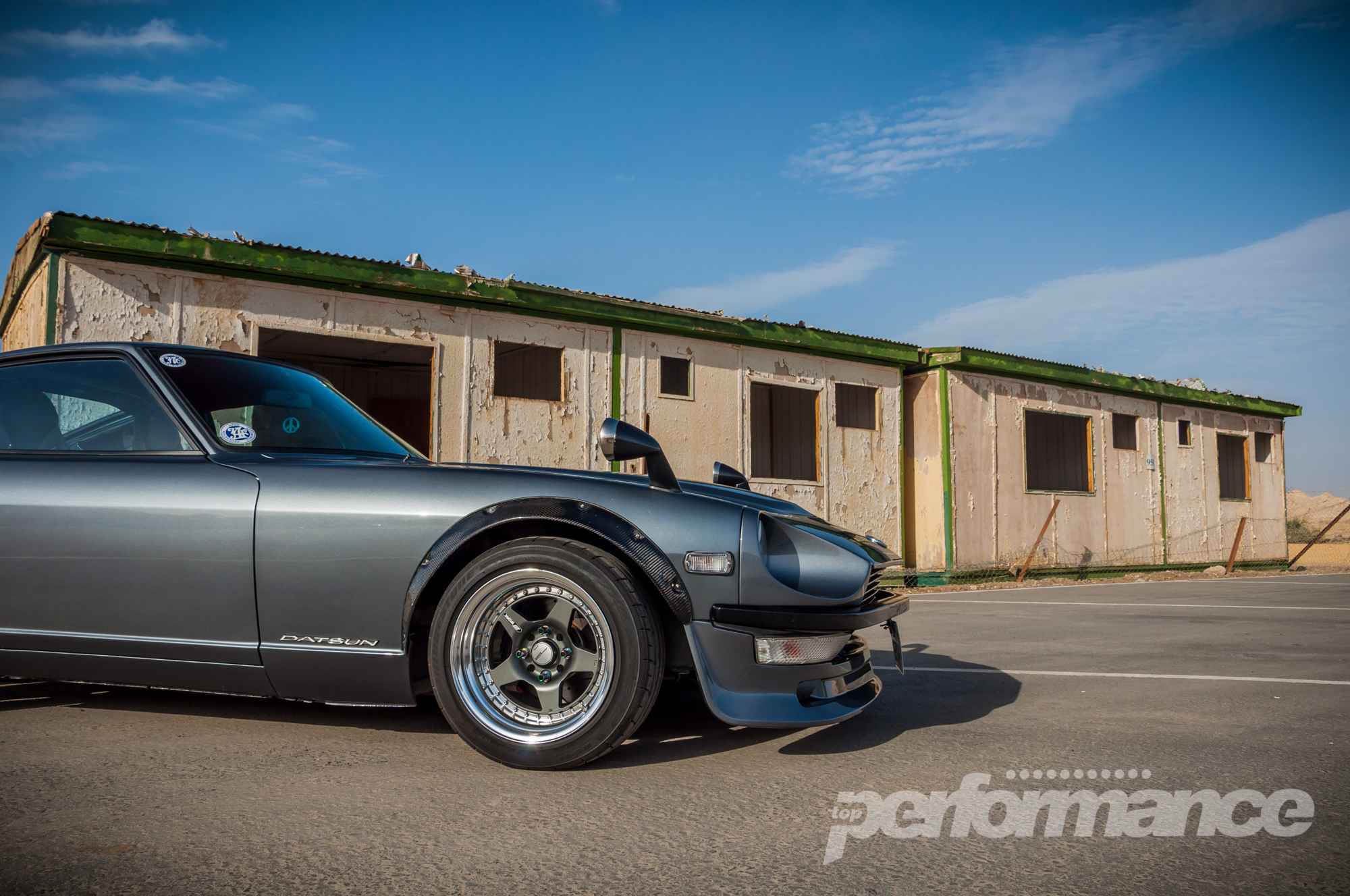 modified classic nissan fairlady z datsun 240z motoring middle east car news reviews and. Black Bedroom Furniture Sets. Home Design Ideas