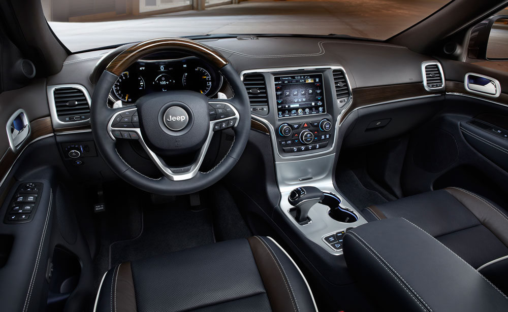 2014 Jeep Grand Cherokee Interior 2