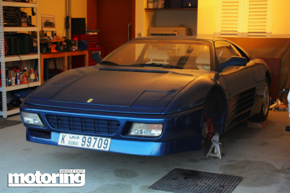 Noel's Ferrari 348 project car