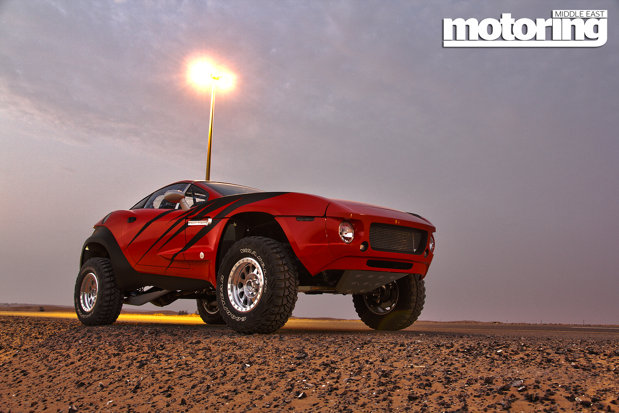 Exclusive Rally Fighter driven in the UAE Motoring