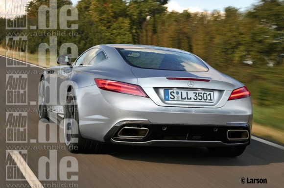 Mercedes SLC by AutoBild