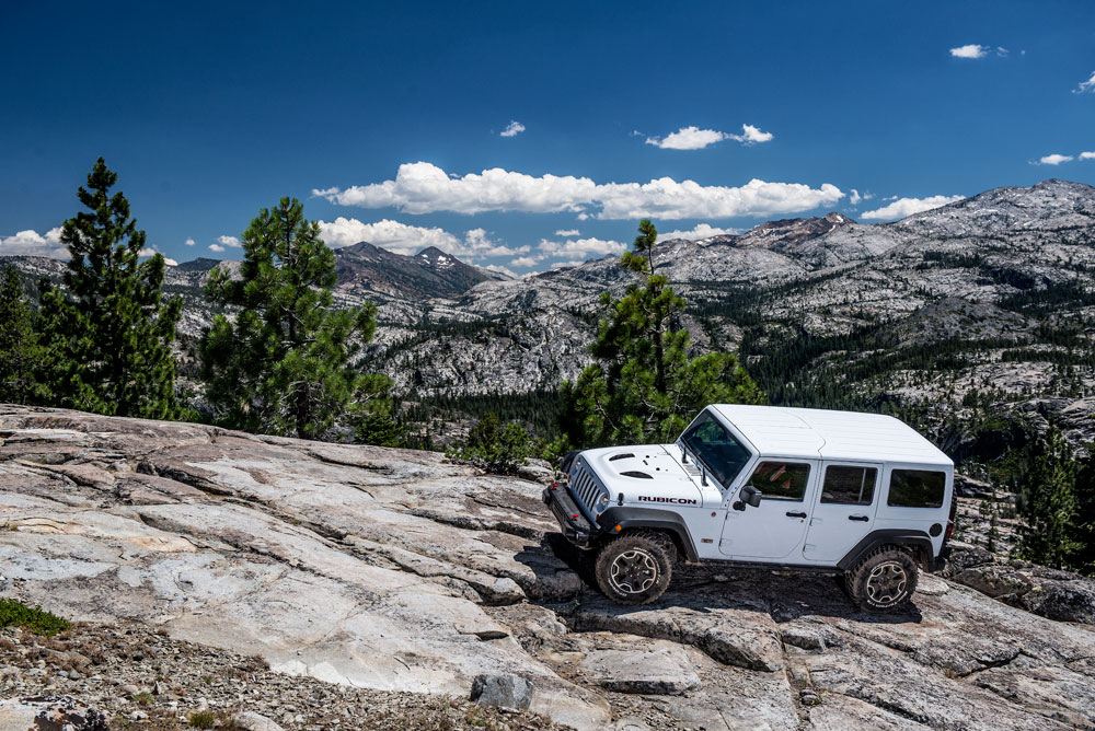 Driving The Rubicon Trail In A Jeep Wrangler Motoring