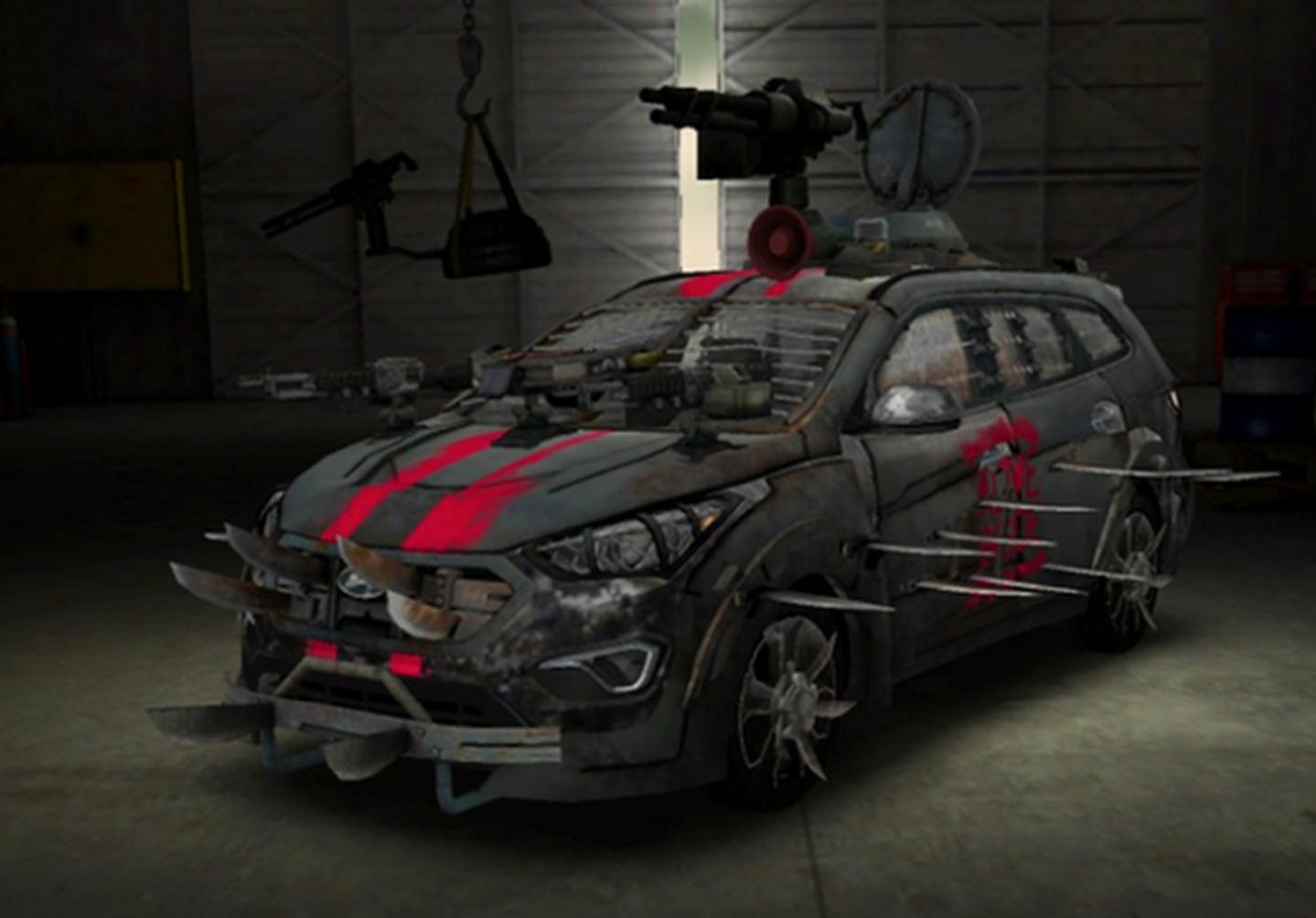Hyundai Sante Fe Zombie Survival Machine Motoring Middle