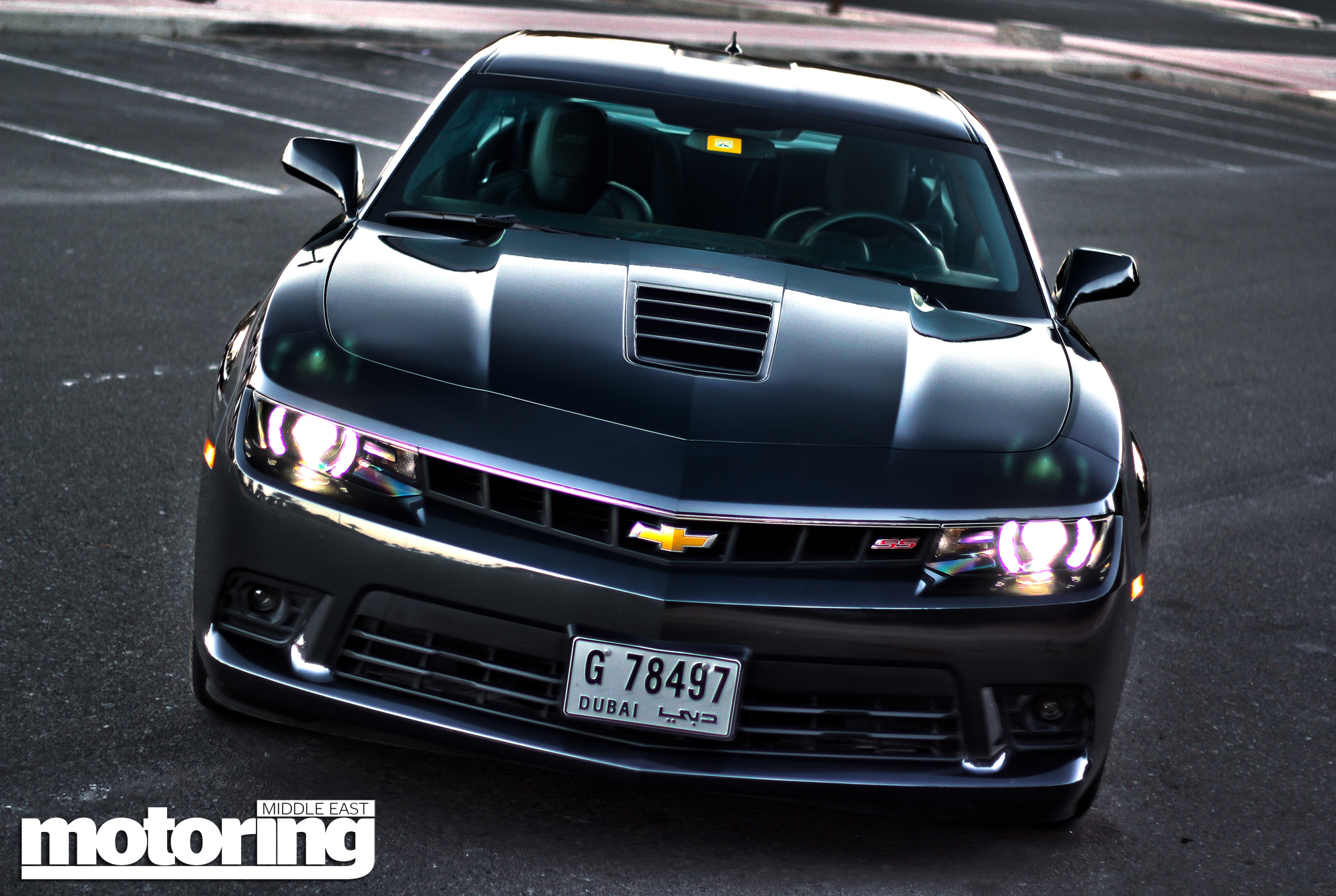 2014 Chevrolet Camaro SS Review  Motoring Middle East Car news