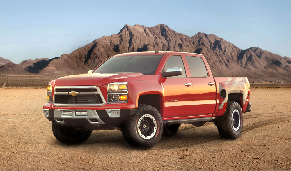 2014 Chevrolet Silverado Reaper Motoring Middle East