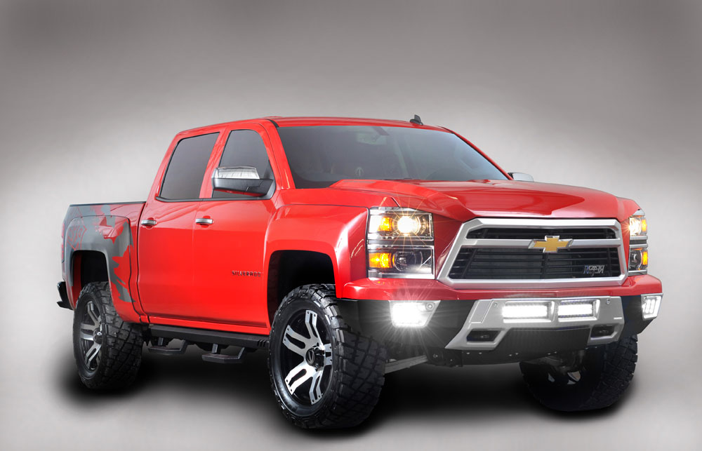 Reaper Silverado >> 2014 Chevrolet Silverado Reaper - Motoring Middle East: Car news, Reviews and Buying ...