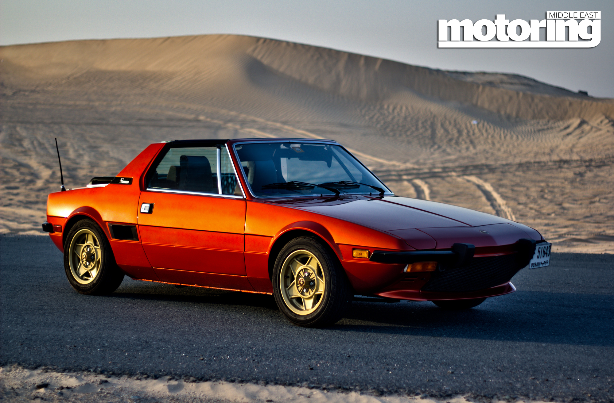 1980 Fiat X1 9 Motoring Middle East Car news Reviews