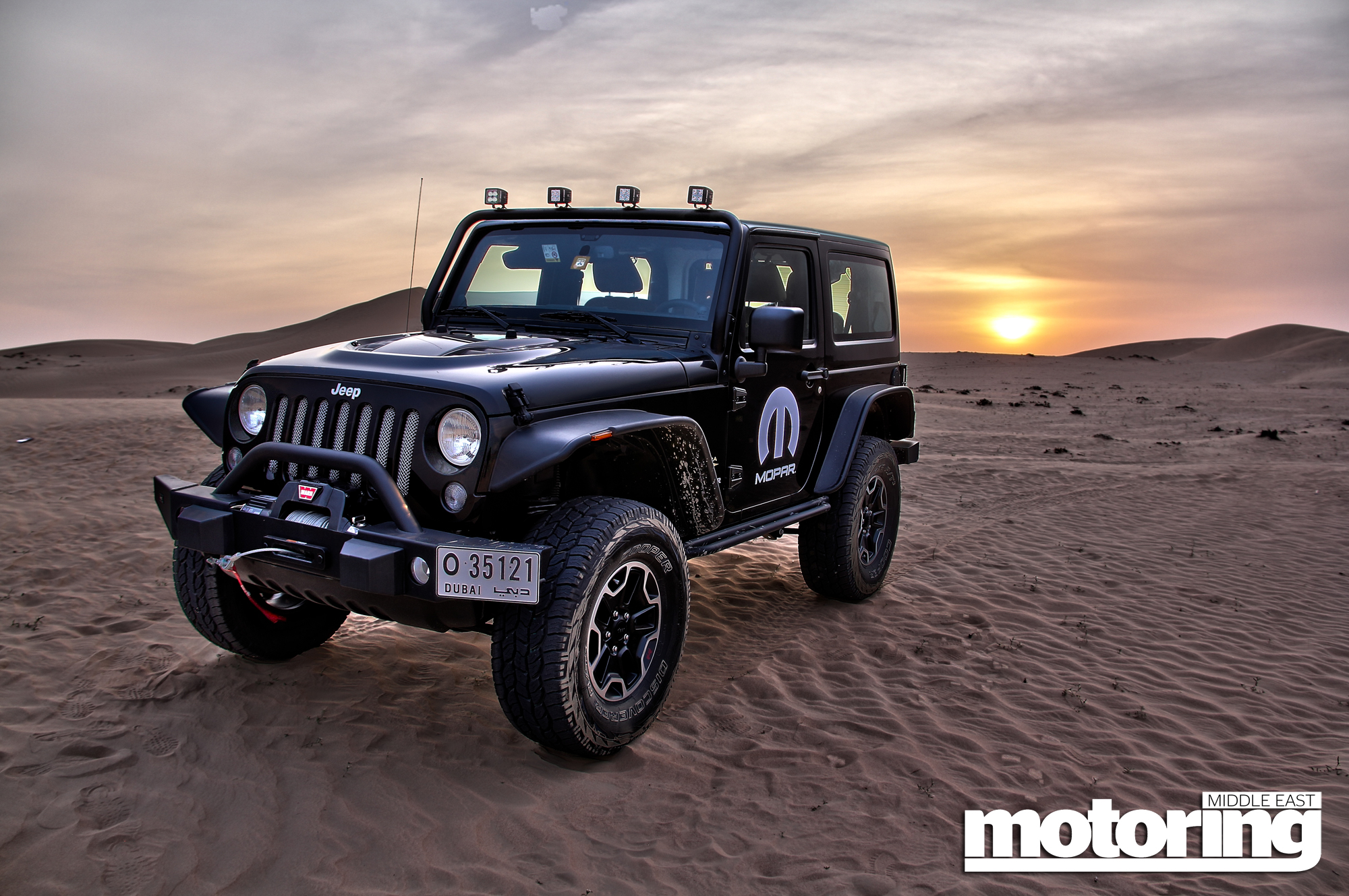 2014 Jeep Wrangler Sahara Moparized Review Motoring Middle East