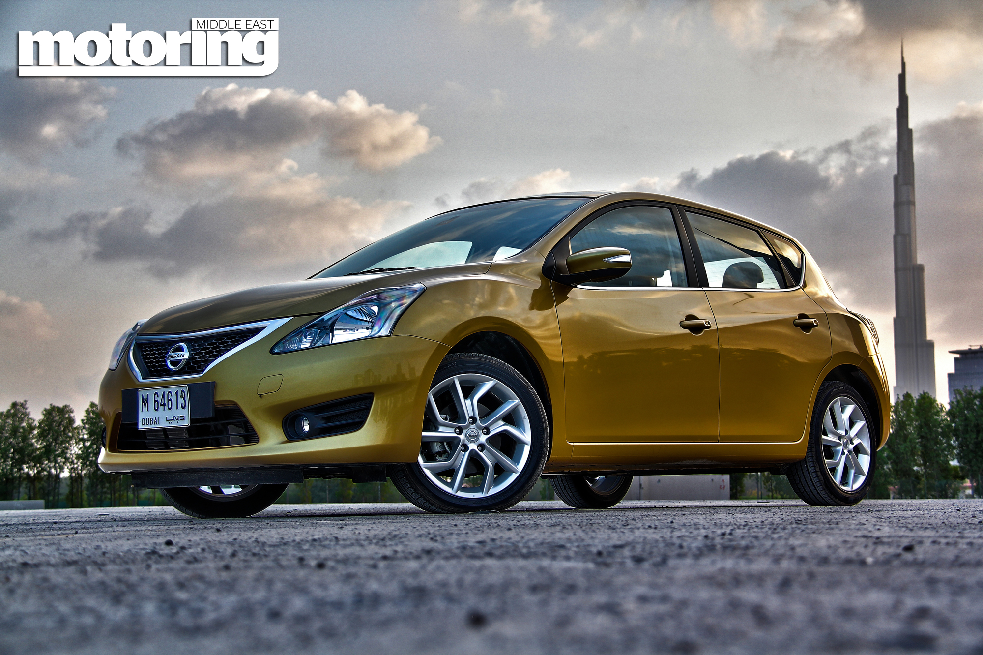 2014 Nissan Tiida Review  Motoring Middle East Car news Reviews