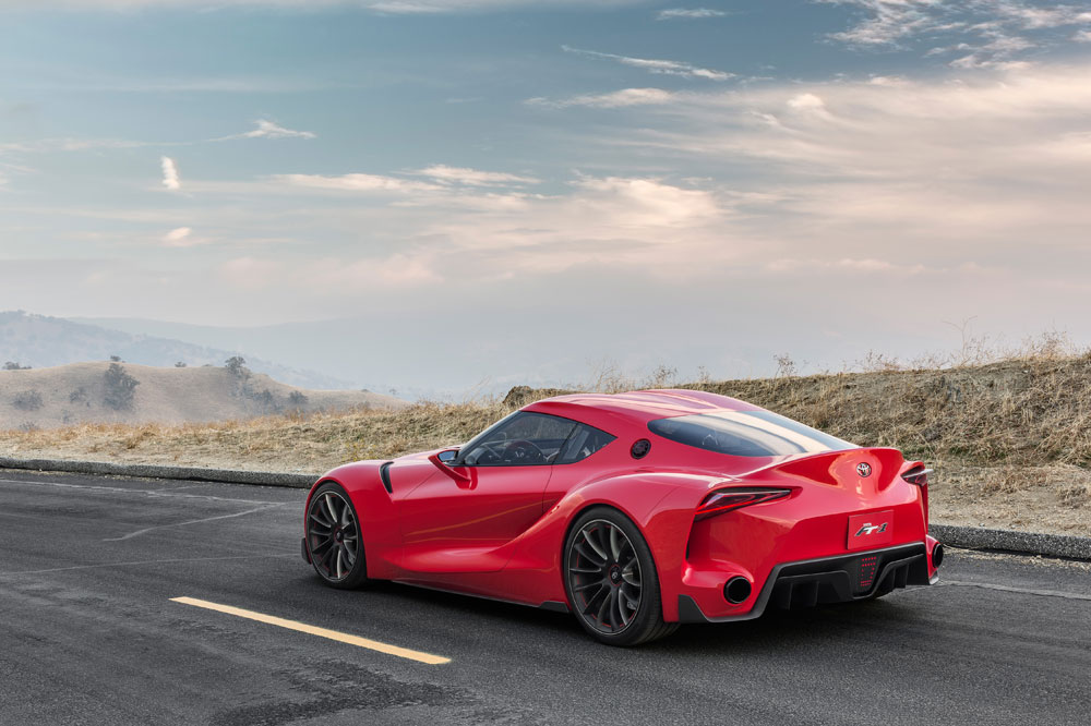 Detroit Auto Show Toyota FT Concept Is The New Supra - Fast car ft