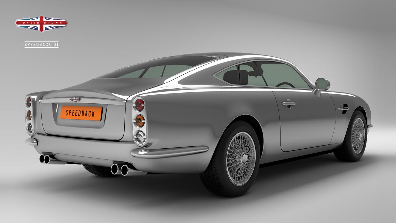 David Brown Speedback Jaguar Xkr Based Tribute To Aston
