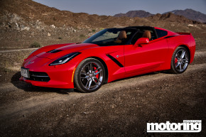 2014 Chevrolet Corvette Stingray Middle East road test
