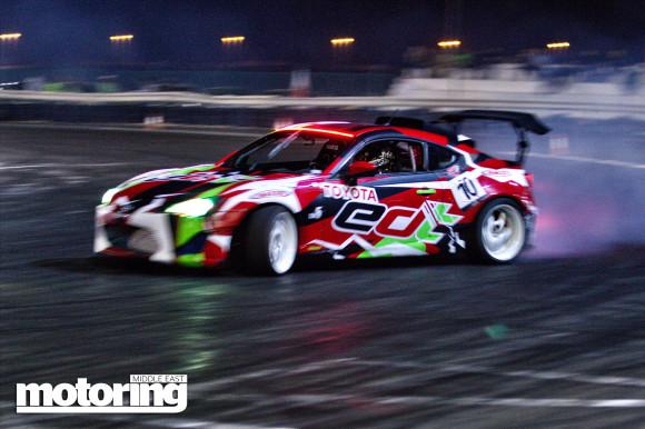 Drift UAE 2013-14 Round 3 Umm Al Quwain 1 March 2014