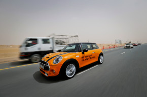 2014 Mini Hatch F56 launch in Dubai
