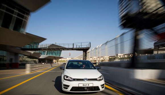2014 Volkswagen Golf R Tested At Dubai Autodrome Gcc