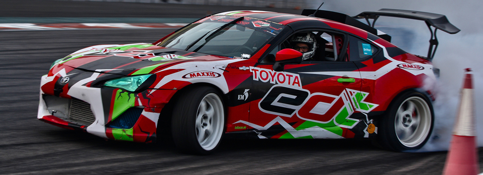 Spectacular finale to this season's Drift UAE at Yas Marina saw popular Emirati regain his crown